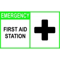 Emergency Sign - First Aid Station