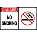 Danger Sign - No Smoking