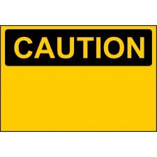 Caution Sign - Custom Sign