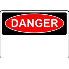 Danger Sign - Custom Sign