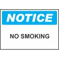 Notice Sign - No Smoking