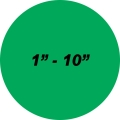PMP-512 Sight Gauge Visual Static Cling (Translucent)