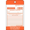 PMP-534 Operational Abnormality Tag