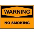Warning Sign - No Smoking